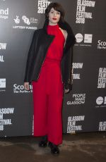 GEMMA ARTERTON at The Escape Photocall at Glasgow Film Festival 03/03/2018
