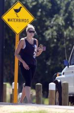 GEMMA ATKINSON Out at a Park in Perth 03/27/2018