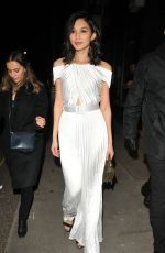GEMMA CHAN at Self-Portrait Store Opening Party in London 03/22/2018