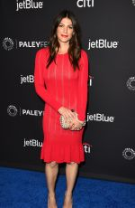GENEVIEVE PADALECKI at Supernatural Panel at 35th Annual Paleyfest in Hollywood 03/20/2018