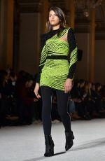 GEORGIA FOWLER at Balmain Fashion Show at Paris Fashion Week 03/02/2018