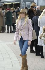 GEORGIA TOFFOLO at Cheltenham 2018 Gold Cup at Cheltenham Racecourse 03/16/2018