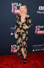 GEORGIA TOFFOLO at Film is Great Reception to Honor British Nominee in Los Angeles 03/02/2018
