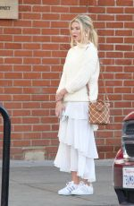 GEORGIA TOFFOLO Laves Kate Somerville Skin Health Clinic in Los Angeles 02/28/2018