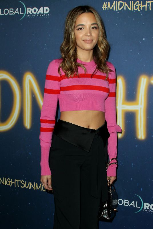 GEORGIE FLORES at Midnight Sun Premiere in Hollywood 03/15/2018