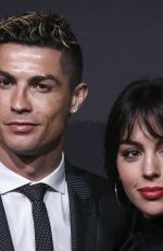 GEORGINA RODRIGUEZ and Cristiano Ronaldoat Quinas De Ouro 2018 Ceremony in Lisbon 03/19/2018
