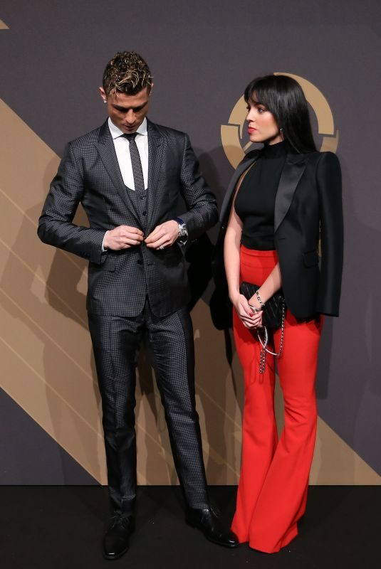 GEORGINA RODRIGUEZ and Cristiano Ronaldoat Quinas De Ouro 2018 Ceremony in Lisbon 03/19/2018