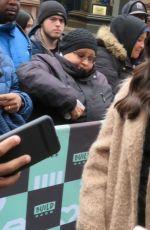 GERALDINE VISWANATHAN Arrives at AOL Build Series in New York 03/29/2018