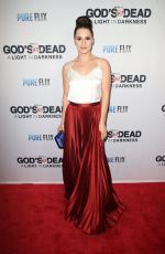 GIANNA SIMONE at God's Not Dead: A Light in Darkness Premiere in Los Angeles 03/20/2018