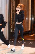 GIGI HADID Leaves Her Home in New York 03/09/2018