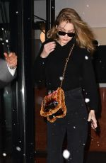 GIGI HADID Leaves Her Home in New York 03/21/2018