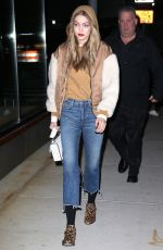 GIGI HADID Out and About in New York 03/19/2018