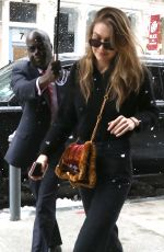 GIGI HADID Out in New York 03/21/2018