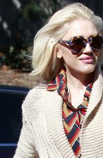 GWEN STEFANI Arrives at Sunday Service at Church in Los Angeles 03/04/2018