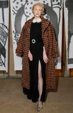 GWENDOLINE CHRISTIE at Miu Miu Show at Paris Fashion Week 03/06/2018