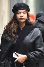 HAILEE STEINFELD Out and About in New York 03/08/2018