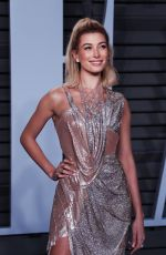 HAILEY BALDWIN at 2018 Vanity Fair Oscar Party in Beverly Hills 03/04/2018