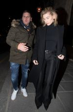 HAILEY BALDWIN Leaves Royal Monceau Hotel in Paris 02/28/2018