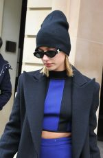 HAILEY BALDWIN Out and About in Paris 03/01/2018