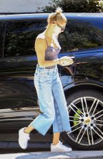 HAILEY BALDWIN Out in West Hollywood 03/04/2018
