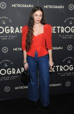 HAILEY GATES at Metrograph 2nd Anniversary Party in New York 03/22/2018