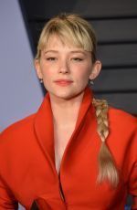 HALEY BENNETT at 2018 Vanity Fair Oscar Party in Beverly Hills 03/04/2018