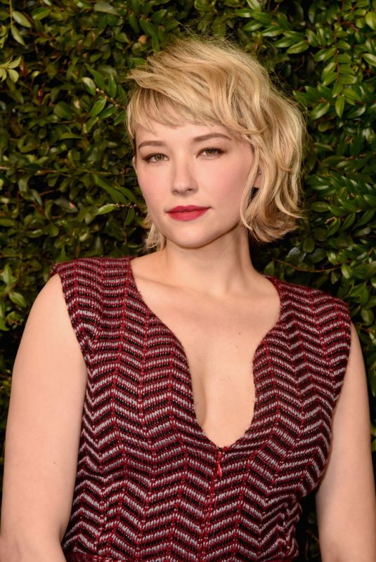 HALEY BENNETT at Charles Finch and Chanel Pre-oscar Dinner in Los Angeles 03/03/2018
