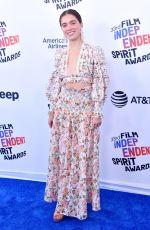 HALEY LU RICHARDSON at 2018 Film Independent Spirit Awards in Los Angeles 03/03/2018