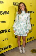 HALEY LU RICHARDSON at Support the Girls Premiere at SXSW Festival ai Austin 03/09/2018