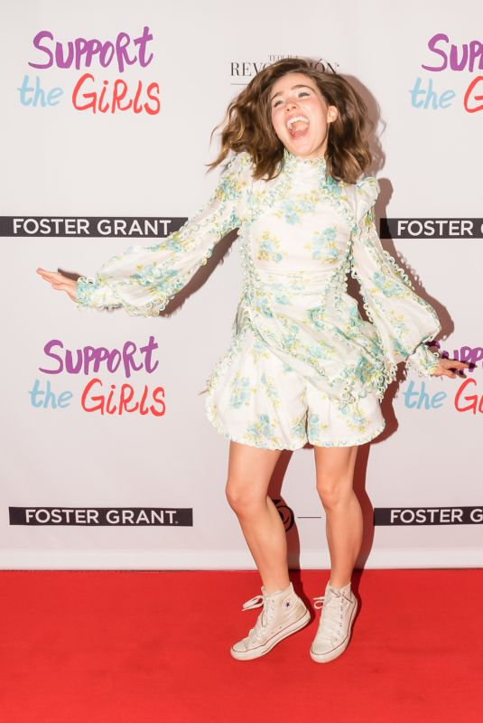 HALEY LU RICHARDSON at Support the Girls Premiere at SXSW Festival ai Austin 03/09/2018
