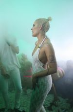 HALSEY Performs at E11even Nightclub in Miami 03/25/2018