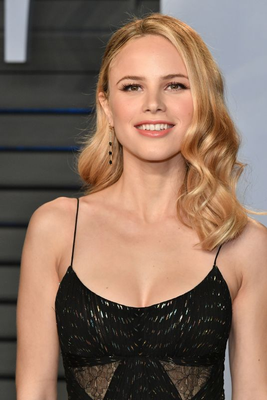 HALSTON SAGE at 2018 Vanity Fair Oscar Party in Beverly Hills 03/04/2018