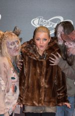 HANNAH SPEARRITT at The Walking Dead: The Ride Media Night at Thorpe Park in London 03/29/2018