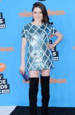 HANNAH ZEILE at 2018 Kids' Choice Awards in Inglewood 03/24/2018