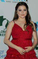 HANNAH ZEILE at Global Green Pre-Oscars Party in Los Angeles 02/28/2018
