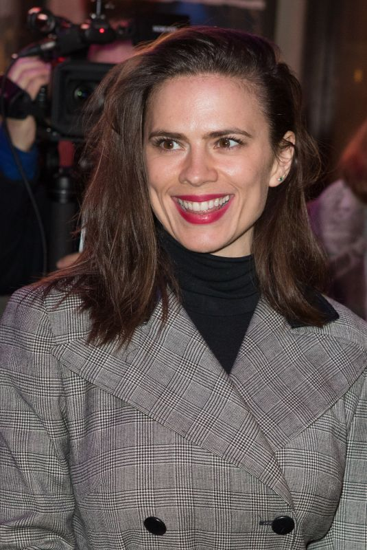 HAYLEY ATWELL at Good Girl Press Night in London 03/06/2018