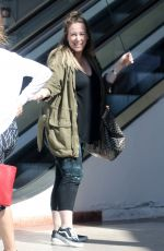 HAYLIE DUFF Leaves Pilates Class in Los Angeles 03/08/2018