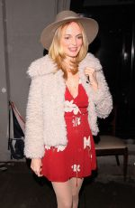 HEATHER GRAHAM Out for Dinner at Craig