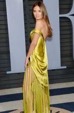 HEIDI KLUM at 2018 Vanity Fair Oscar Party in Beverly Hills 03/04/2018