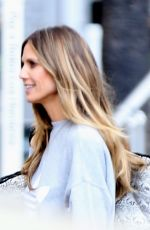 HEIDI KLUM Out and About in Los Angeles 03/16/2018