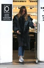 HEIDI KLUM Out Shopping in Beverly Hills 03/02/2018