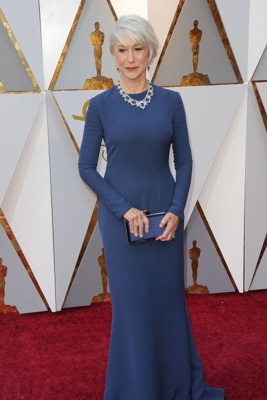 HELEN MIRREN at 90th Annual Academy Awards in Hollywood 03/04/2018