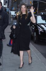 HILARY SWANK Arrives at Late Show with Stephen Colbert in New York 03/20/2018