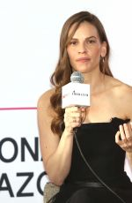 HILARY SWANK at Liberatum, International Festival of Culture and Leadership in Mexico City 03/17/2018