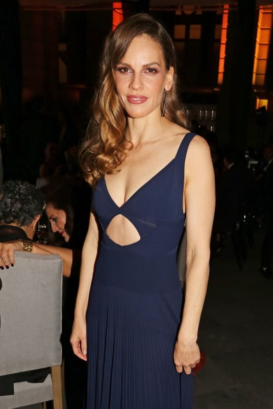 HILARY SWANK at Liberatum Mexico Festival 2018 Gala Dinner 03/17/2018