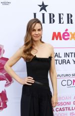 HILARY SWANK at Liberatum Mexico Festival 2018 in Mexico City 03/17/2018