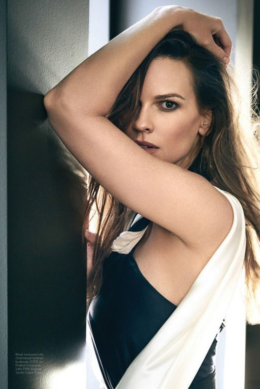 HILARY SWANK in Los Angeles Confidential Magazine, Sspring/Summer 2018