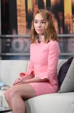 HOLLY TAYLOR at Good Day New York Show in New York 03/27/2018