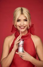 HOLLY WILLOGHBY for Diet Coke, March 2018