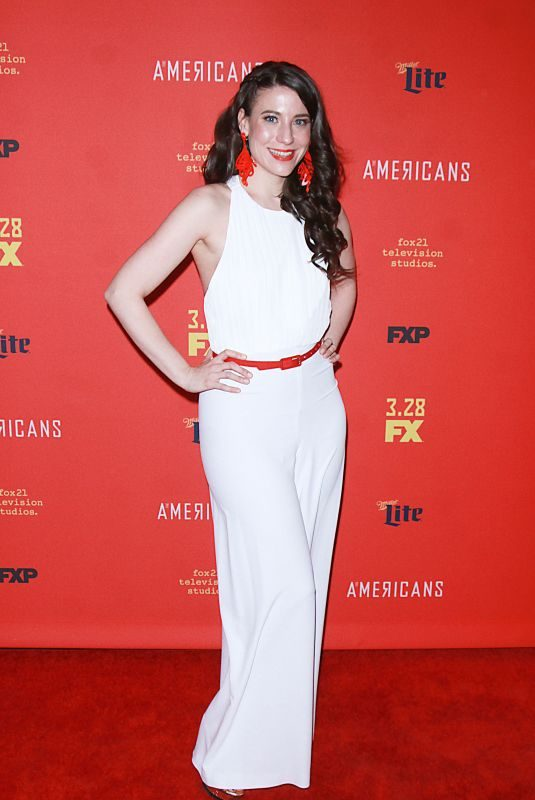 IRENE SOFIA LUCIO at The American's Premiere in New York 03/16/2018
